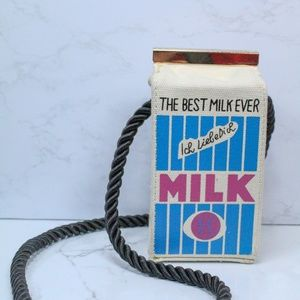 Handbags - Milk Carton Purse